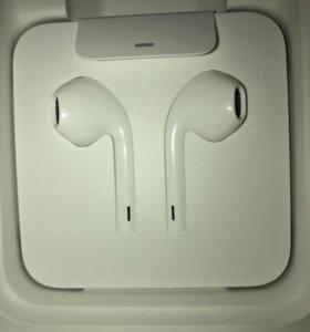 Оригинальные наушники earpods lightning