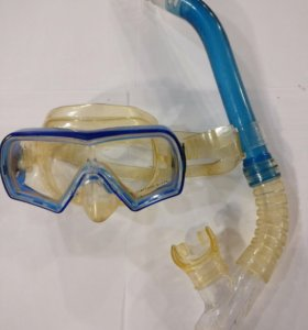 Маска и трубка для подводного плавания