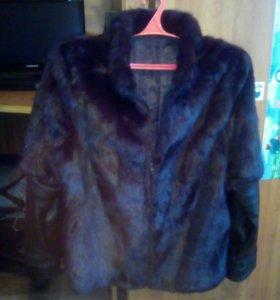 Куртка кожа-мех.