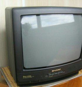 Телевизор ЭЛТ SHARP 14L-SC