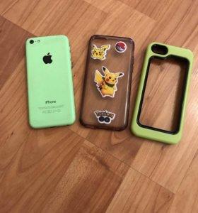 iPhone 5c (айфон 5ц) 16 гигабайт зелёный