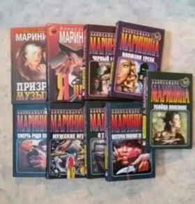Книги детективы А.Маринина
