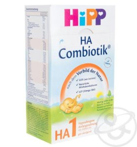 Смесь Hipp Сombiotic 1 молочная гипоаллергенная500