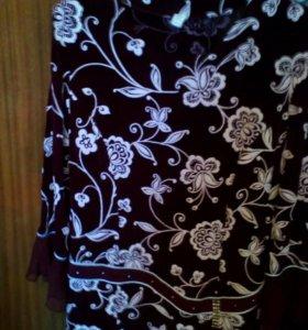 Блуза нарядная длинный рукав