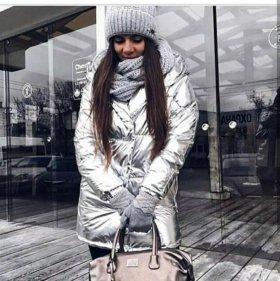 Куртка зефирка женская пуховик есть все цвета