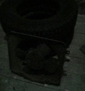 Вентилятор радиатора на ваз 2108'2109'2199