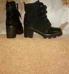 Ботинки зимние. 37-37,5
