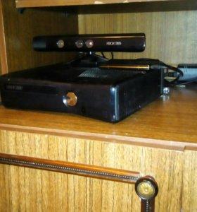 Xbox 360 с кинектом и гта5 в подарок