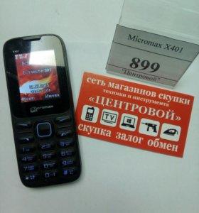 Телефон Micromax X401
