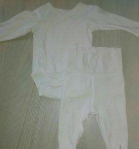 Боди и штанишки комплект h&m