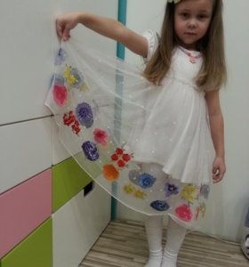 Нарядное брендовое платье Desalitto Pinetti