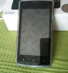 Смартфон Lenovo A1000 Black