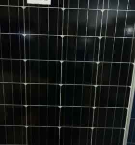 Солнечная батарея Exmork монокристалл 100 ватт.