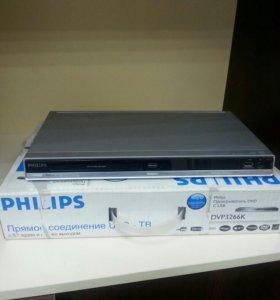 DVD плеер PHILIPS DVP3266K