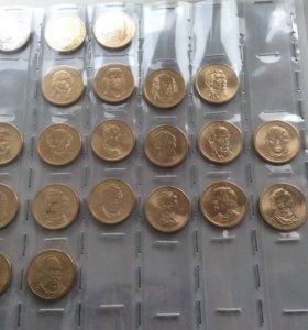 Продам монеты доллары США