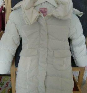 Пальто  6-8лет