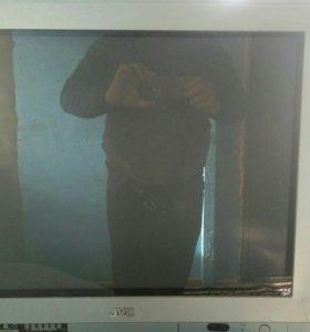 Телевизор б/у jvc AV-2968 tee кинескоп плоский
