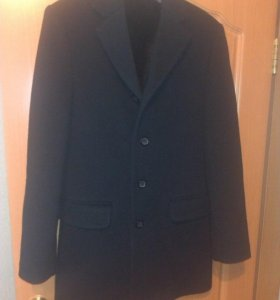 Пальто черное классическое