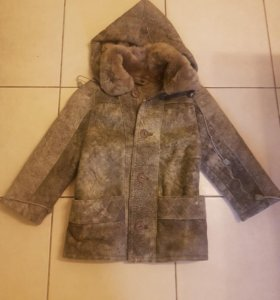 Куртка дубленка детская
