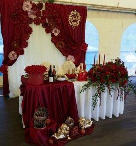 цветы. оформление. свадьба
