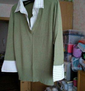 Блуза , р-р48-50
