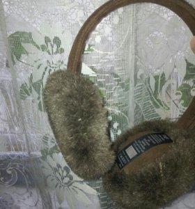 ободок с зимними ушами