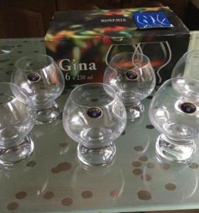 Набор стаканов Богемия 250мл