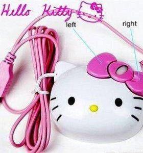 Мышка компьютерная hello kitty
