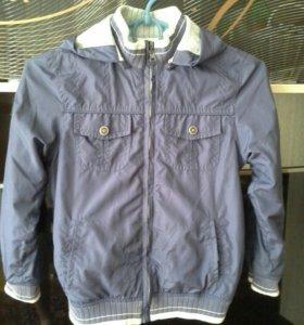 Легкая двусторонняя куртка