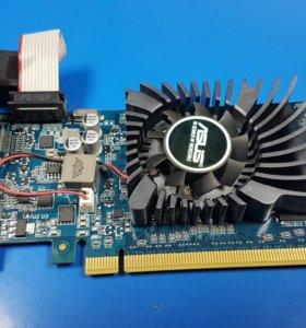 Видеокарта б/у Asus GT610 1Gb DDR3
