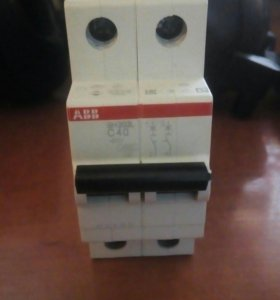 Автоматический выключатель АВВ (АББ) SH202L C40
