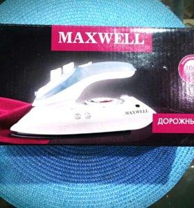 Новый дорожный утюг Maxwell