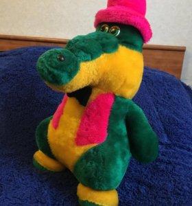 Игрушка мягкая Крокодил