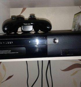 Игровая приставка Xbox 360 плюс Kinect