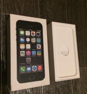 Коробка от айфон 5 s