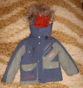 Комбинезон зимний на мальчика 3 лет