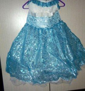 Платье карнавальное детское