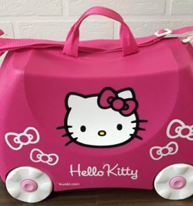 "Чемодан на колесиках Trunki розовый ""Hello Kitty"""