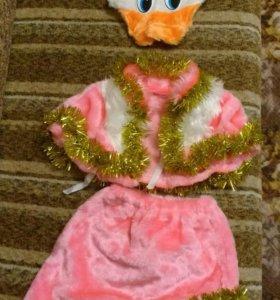 Новогодний костюм уточка на 3-4 года