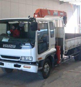 Грузоперевозки на автомобиле isuzu forward 5 т.