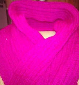 Яркие шарфы на зиму😚Вяжу на заказ прелестные вещи