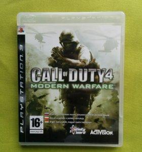 Игра Call of Duty 4 Modern Warfare для PS3