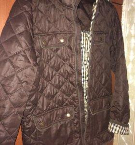 Продаю демисезонную куртку для мальчика немного б/