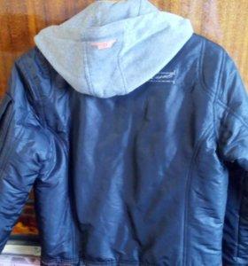 Куртка двусторонняя утепленная