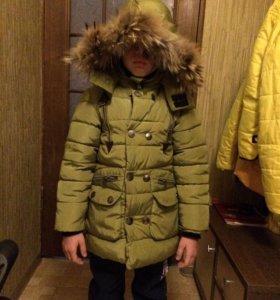 Куртка зимняя kikq