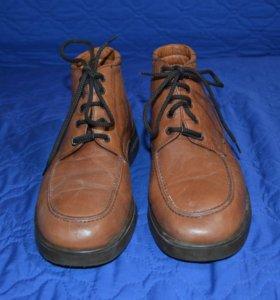 Ботинки,нат.кожа