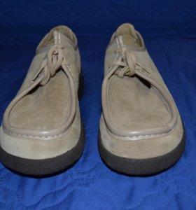 Туфли,замша