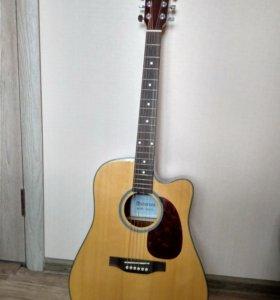 электро акустическая гитара Asturias