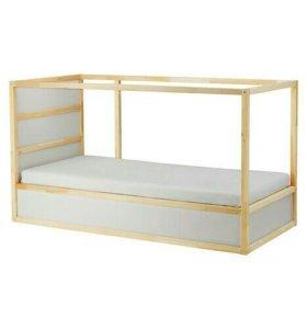 Кровать-чердак Икея Кюра