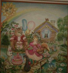 Картины детские на заказ